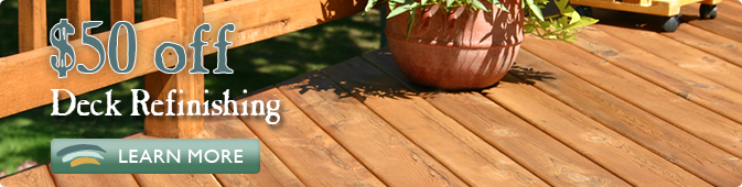 deck refinishing coupon Jacksonville FL
