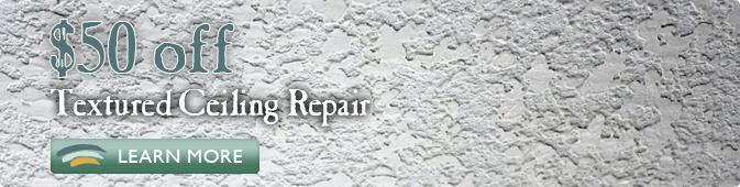 textured ceiling repair coupon Jacksonville FL