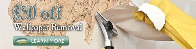 wallpaper removal coupon Jacksonville FL