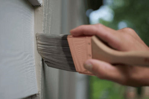 protecting with paint