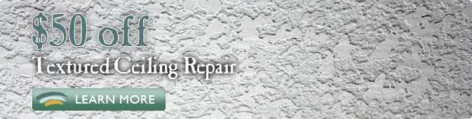 textured ceiling repair coupon Jacksonville FL