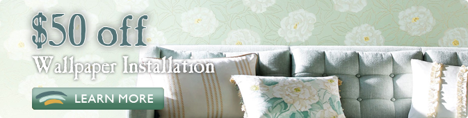 custom wallpaper installation coupon Jacksonville FL