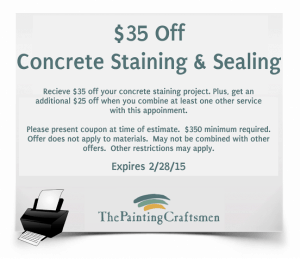 187 Tpc Concrete Staining Coupon