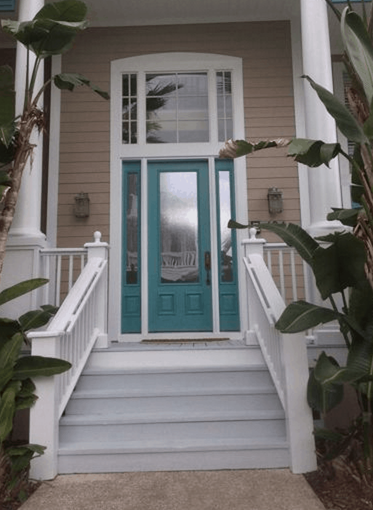 Make A Statement With The Paint Color Of Your Front Door