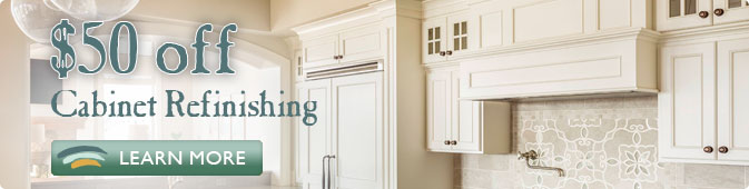 cabinet refinishing coupon Jacksonville FL